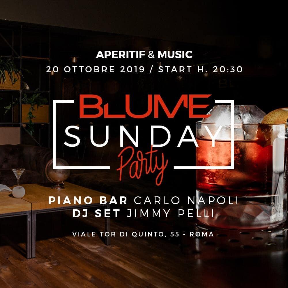 domenica blume aperitivo roma